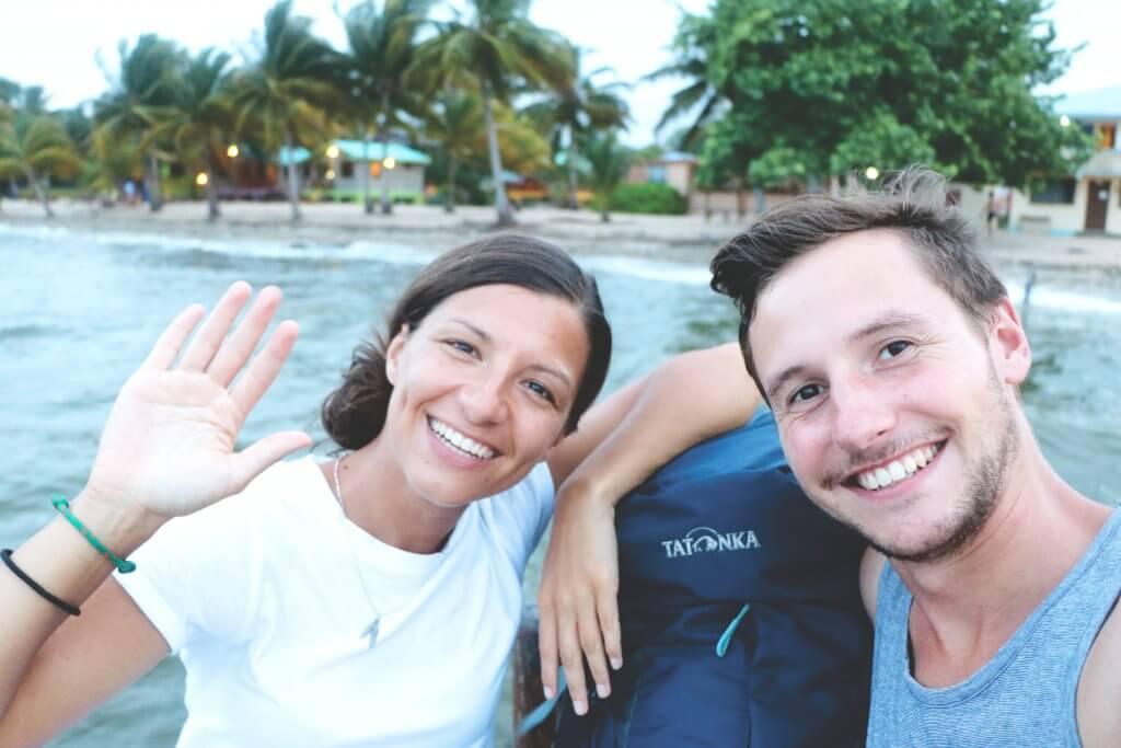 Ania und Daniel begaben sich mit ihren Yukon Rucksäcken auf einen Backpacking-Trip durch Belize.