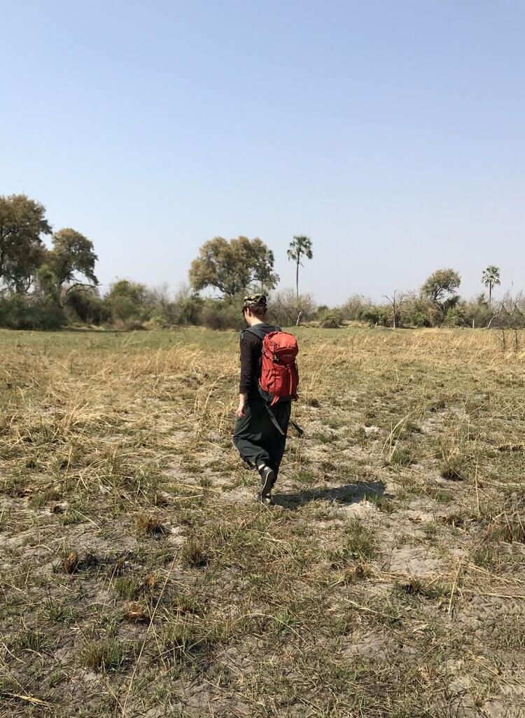 Buschwalk im Okavango Delta