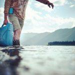 Yukon River Kanutour - Wasservorraete auffuellen.