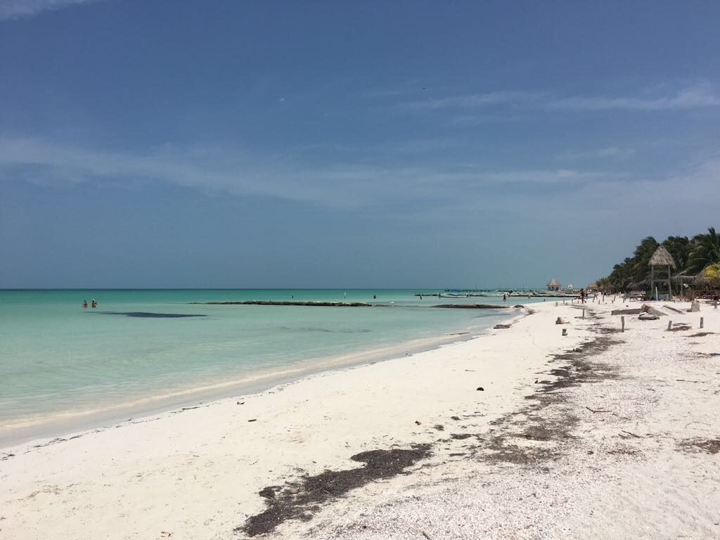 Roadtrip Yucatan - Sandstrand in Holbox in Mexiko.