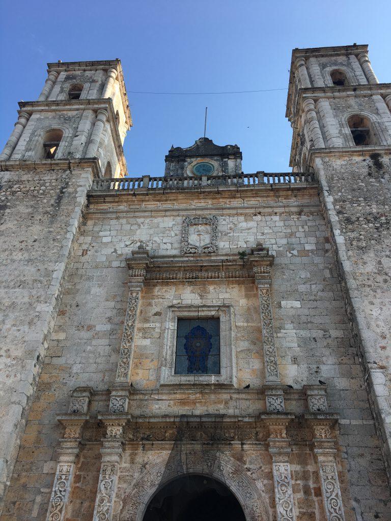 Roadtrip Yucatan - Hausfassade in Merida, Mexiko: In der Stadt findet man eine traumhafte Architektur.