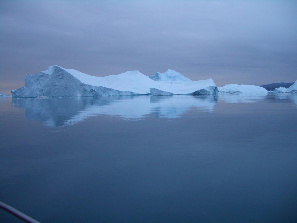 Eisberg auf Grönland.
