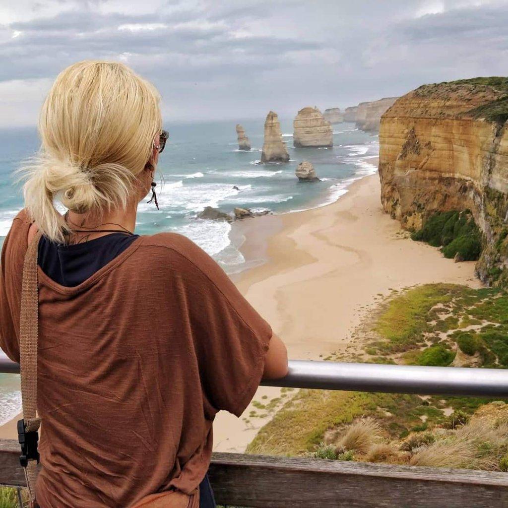 Nicole in Melbourne Vicotria, Australien.
