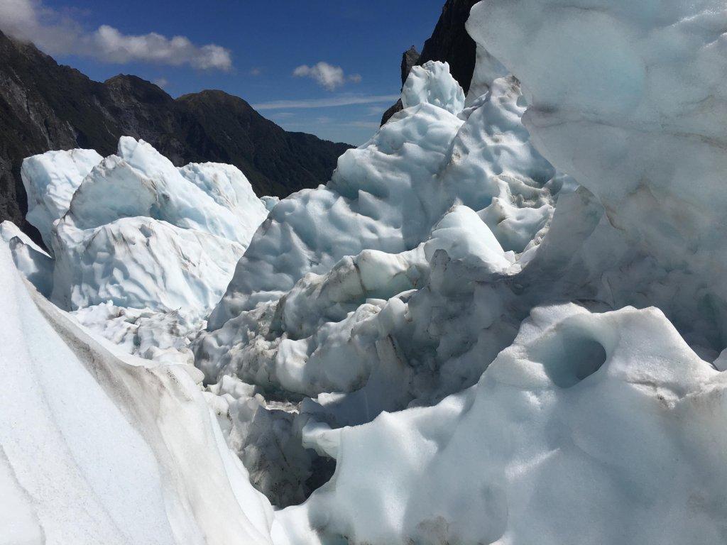 Franz Josef Gletscher in Neuseeland.