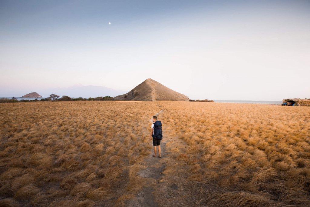 Insel nahe des Komodo Nationalparks, Indonesien.