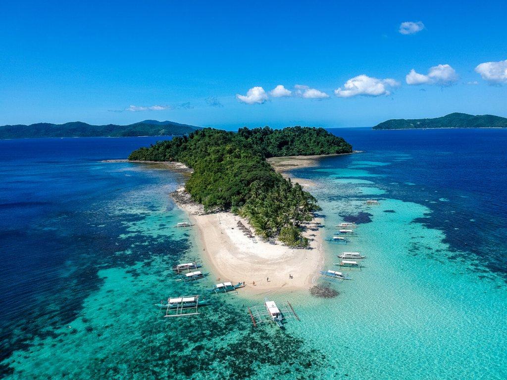 Inoladoan bzw. German Island vor den Philippinen.