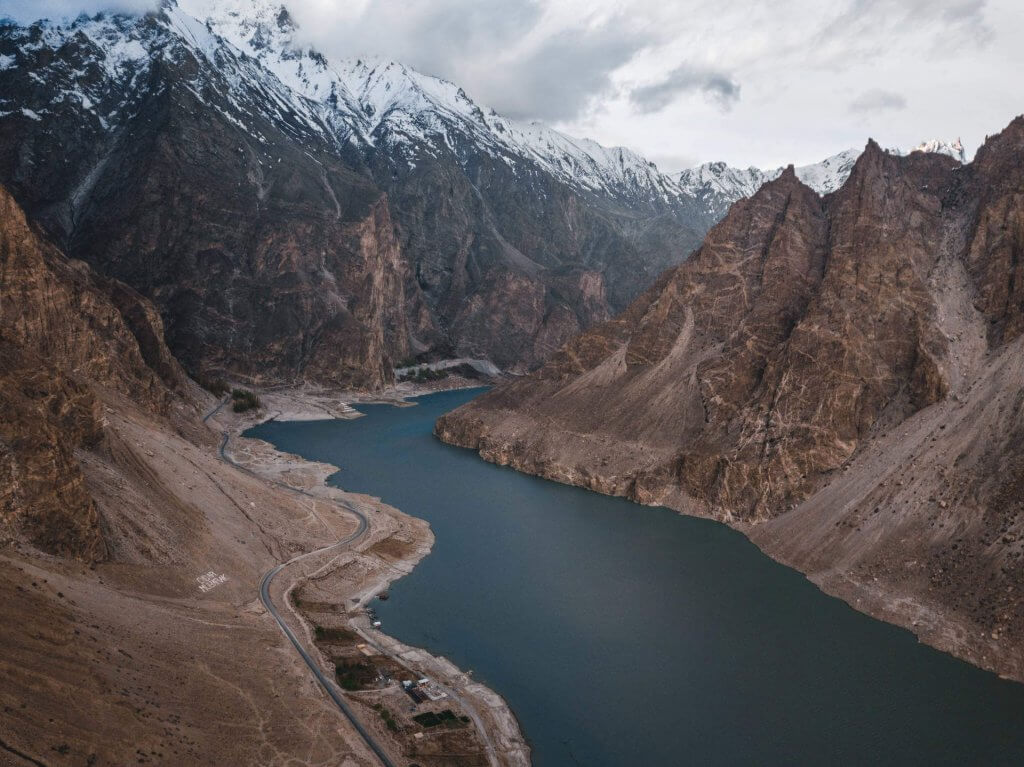 Rreise nach Pakistan: Attabad Lake in der Region Hunza.