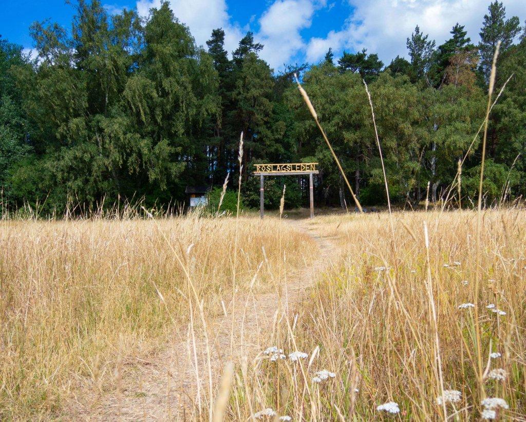 Trekking Südschweden - Startpunkt des Roslagsleden Weitwanderweges.