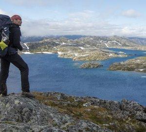 Dirk Rohrbach unterwegs auf dem Chilkoot Trail.