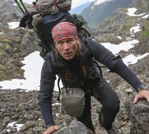 Dirk Rohrbach unterwegs auf dem Chilkoot Trail