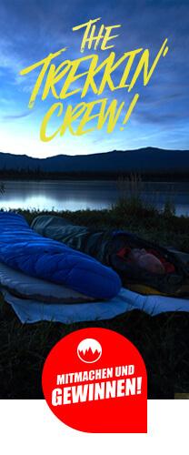 Be a Part of the Trekkin' Crew! Erzähle uns von deinem großen Abenteuer und gewinne eine Reise auf dem Yukon!