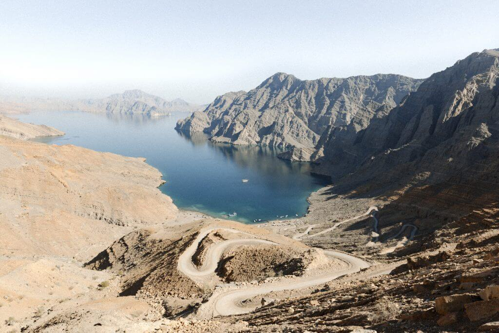 Khasab auf der Halbinsel Musandam im Oman. Das Norwegen Omans.