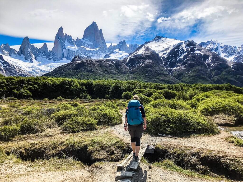 Wanderung zum Cerro Fitz Roy.