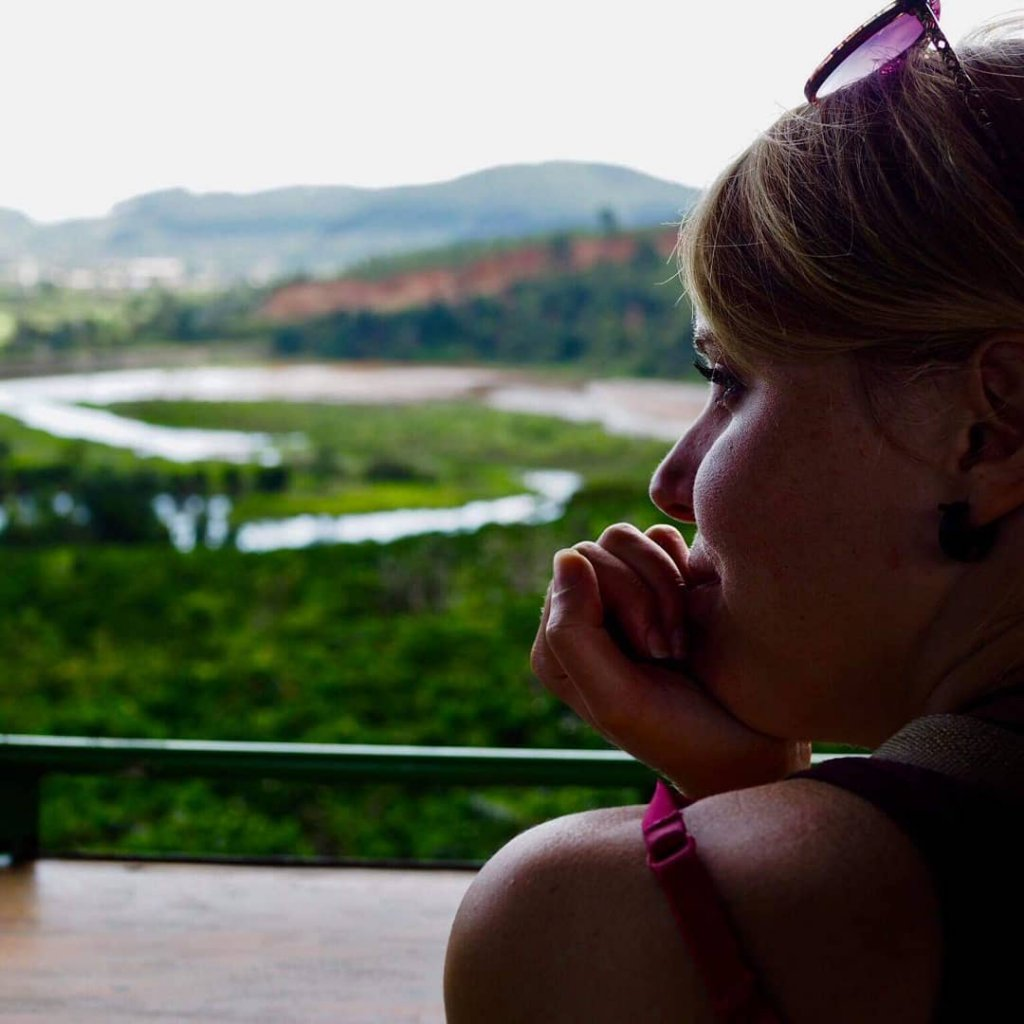 Nicole in Dalat, Vietnam.